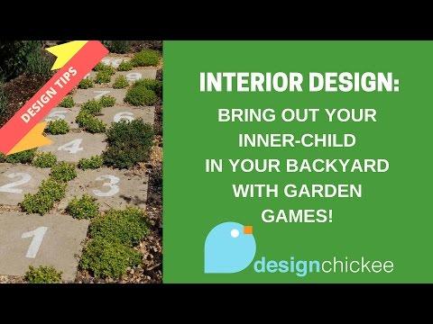 Interior Design Tips: Backyard Garden Games