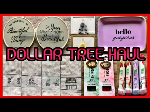 INCREDIBLE DOLLAR TREE HAUL | WITH ALL NEW NEVER SEEN BEFORE ITEMS | MUST SEE  DEC 10 2019