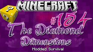 """LUCKY, LUCKY, LUCKY!""   Diamond Dimensions Modded Survival #154   Minecraft"