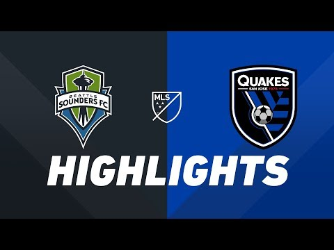 Seattle Sounders FC vs. San Jose Earthquakes | HIGHLIGHTS - April 24, 2019