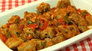 Receta fácil de magro de cerdo en salsa