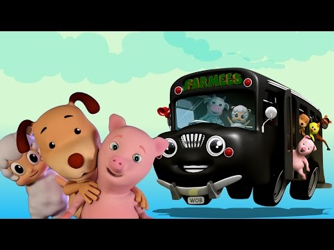 ruote del bus   canzoni per bambini   bambino rima   Wheels On The Bus   Nursery Rhymes   Baby Rhyme