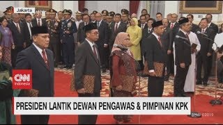 Presiden Lantik Dewan Pengawas & Pimpinan KPK