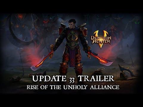Dungeon Hunter 5 - Update 33 Trailer