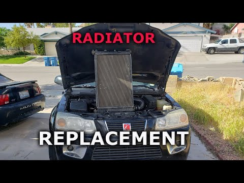 How to Replace a Car Radiator (Saturn Vue AWD)