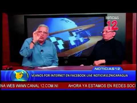 Humberto Ortega entrevista Canal 12 abril 2018