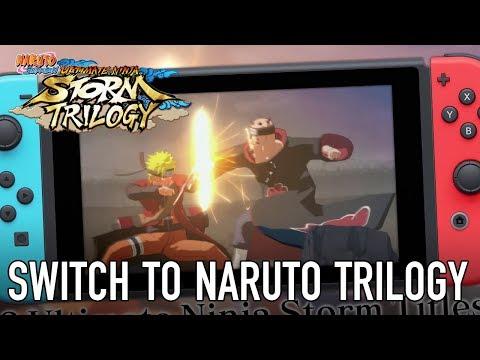 Naruto Shippuden: Ultimate Ninja Storm Trilogy Switch