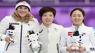 Entertainment News 247 - 平昌五輪2018 - スピード 女子500 女王小平、なお貪欲 求道者、次は世界新