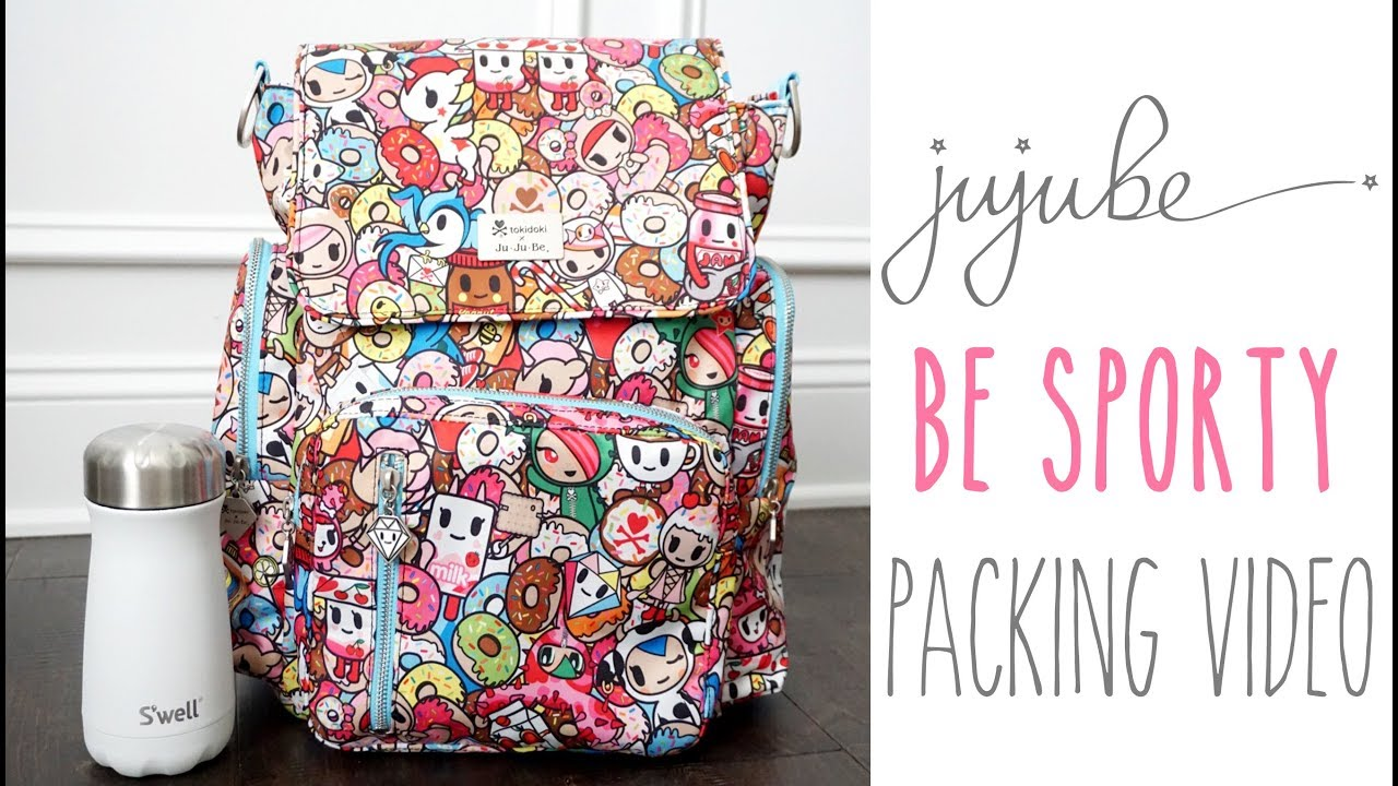531b6214033c How To Pack For Baby  Ju-Ju-Be Be Sporty Diaper Bag in Tokipops ...