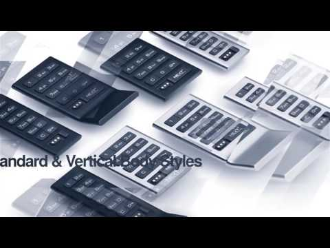 The new Axis Keypad and Touch RFID locks by Digilock