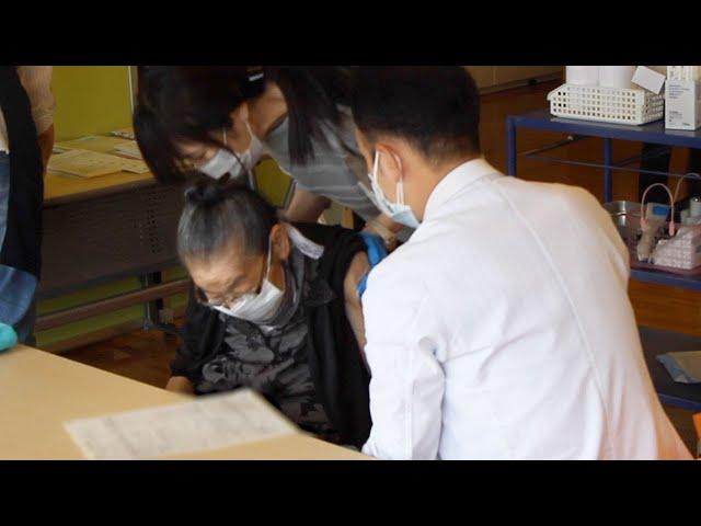 高齢者のワクチン接種始まる さいたま市の老人ホーム