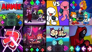 Friday Night Funkin Vs Squid Game, Annie FNF Mod Battle Music - Good Enough Annie,FNF: B3 REMIXED