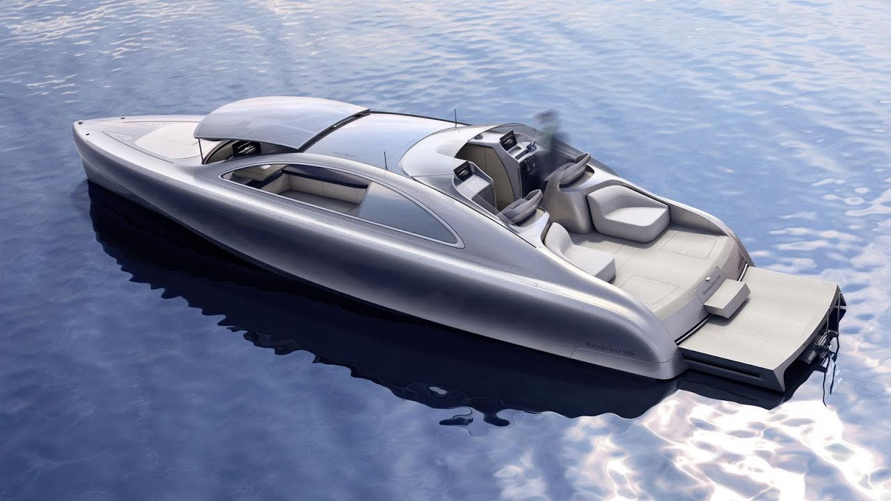 Watch The Mercedes Yacht Is 1.7 Million Of Seagoing Extravagance video