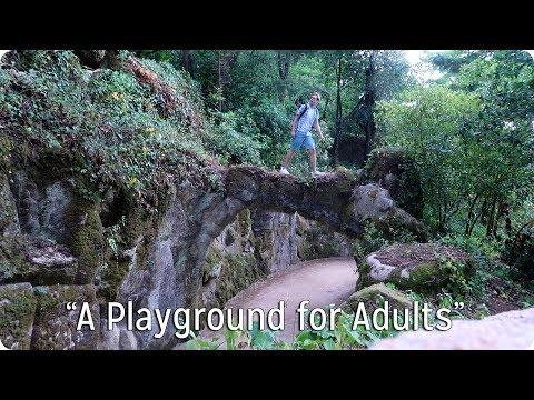 """A Playground for Adults""  Exploring Quinta da Regaleira"