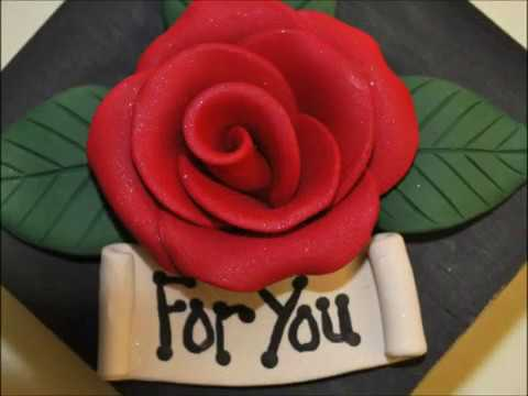Gift Box with Polymer Clay RoseTutorial YouTube