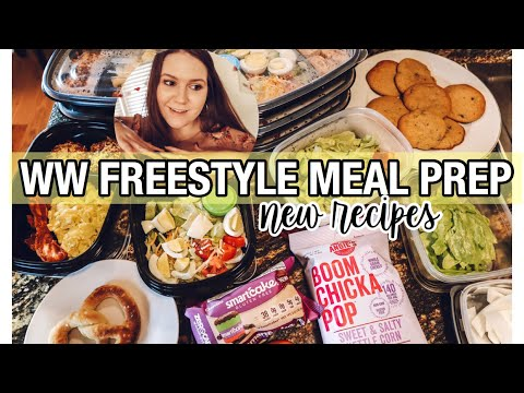 TRYING NEW RECIPES || WW FREESTYLE MEAL PREP FOR WEIGHT LOSS || My Weight Loss Journey