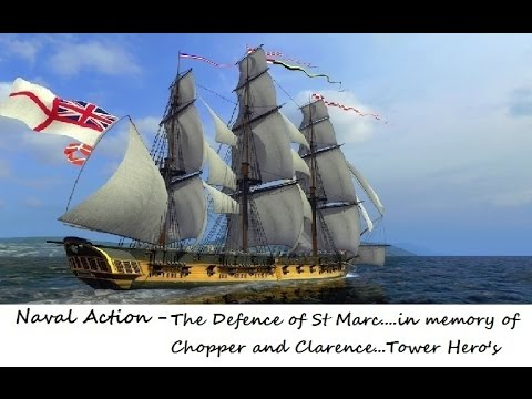 Naval Action : The Pirate Wars : The Defence of St Marc Pt1