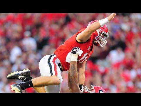 #11 Georgia vs. #17 Mississippi State Highlights | College Football Week 4