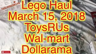 LEGO and Brick Haul March 15th 2018
