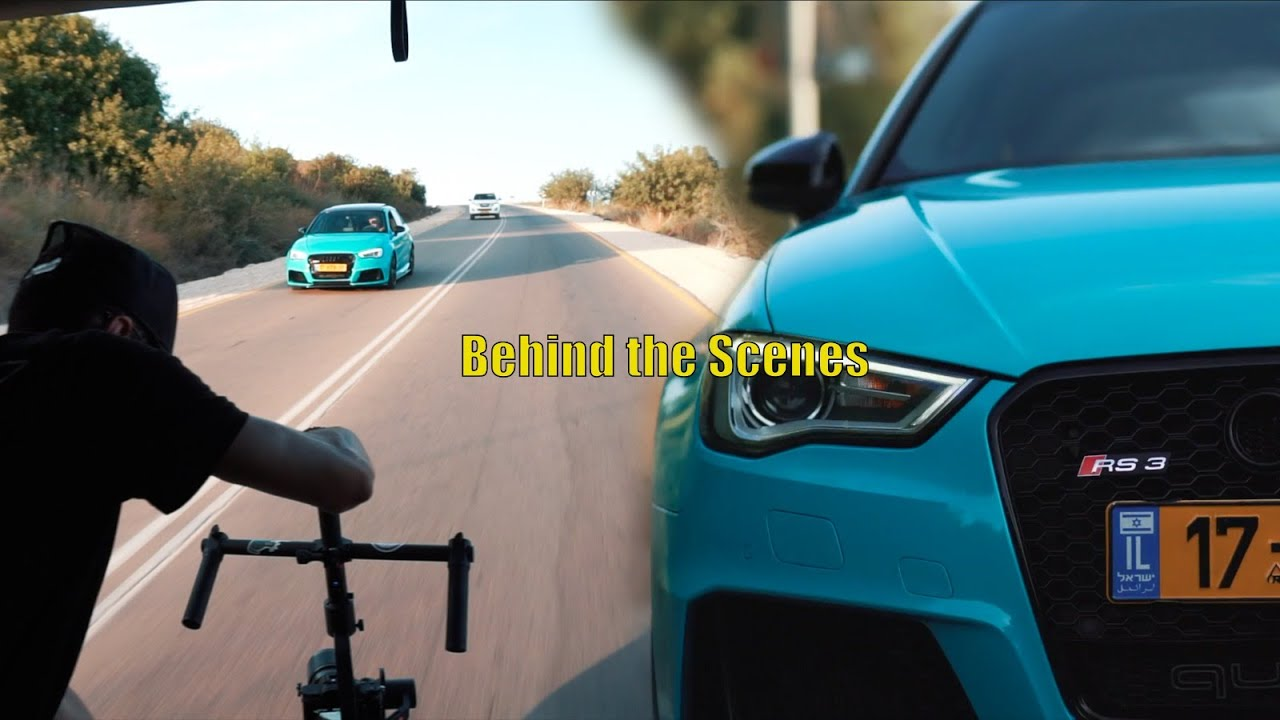 Blue shark • Audi Rs3 // Behind the scenes 2021