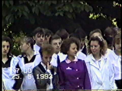 Наш выпускной 1993. Славянск на Кубани, сш №16 11А и 11Б классы.
