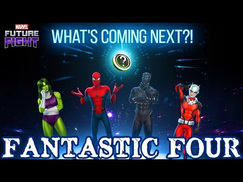 UPDATE 4.7 FANTASTIC FOUR CONFIRMED?!? | Marvel Future Fight