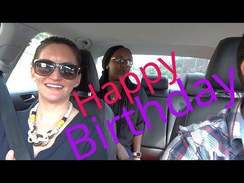 Carpool karaoke birthday surprise