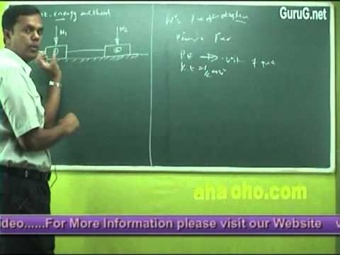 Unit-4 Dynamics Of Particles (Work Energy Equation of Particles) - Engineering Mechanics