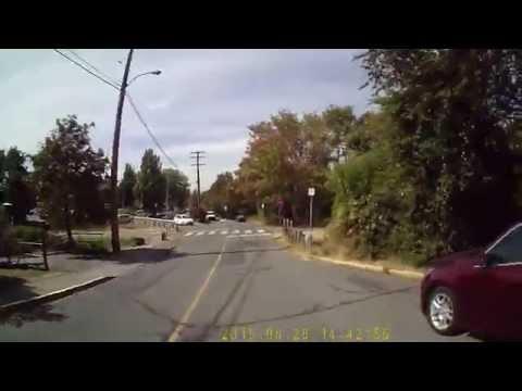 Run around a Saanich BC neighborhood (about 3.5 km)