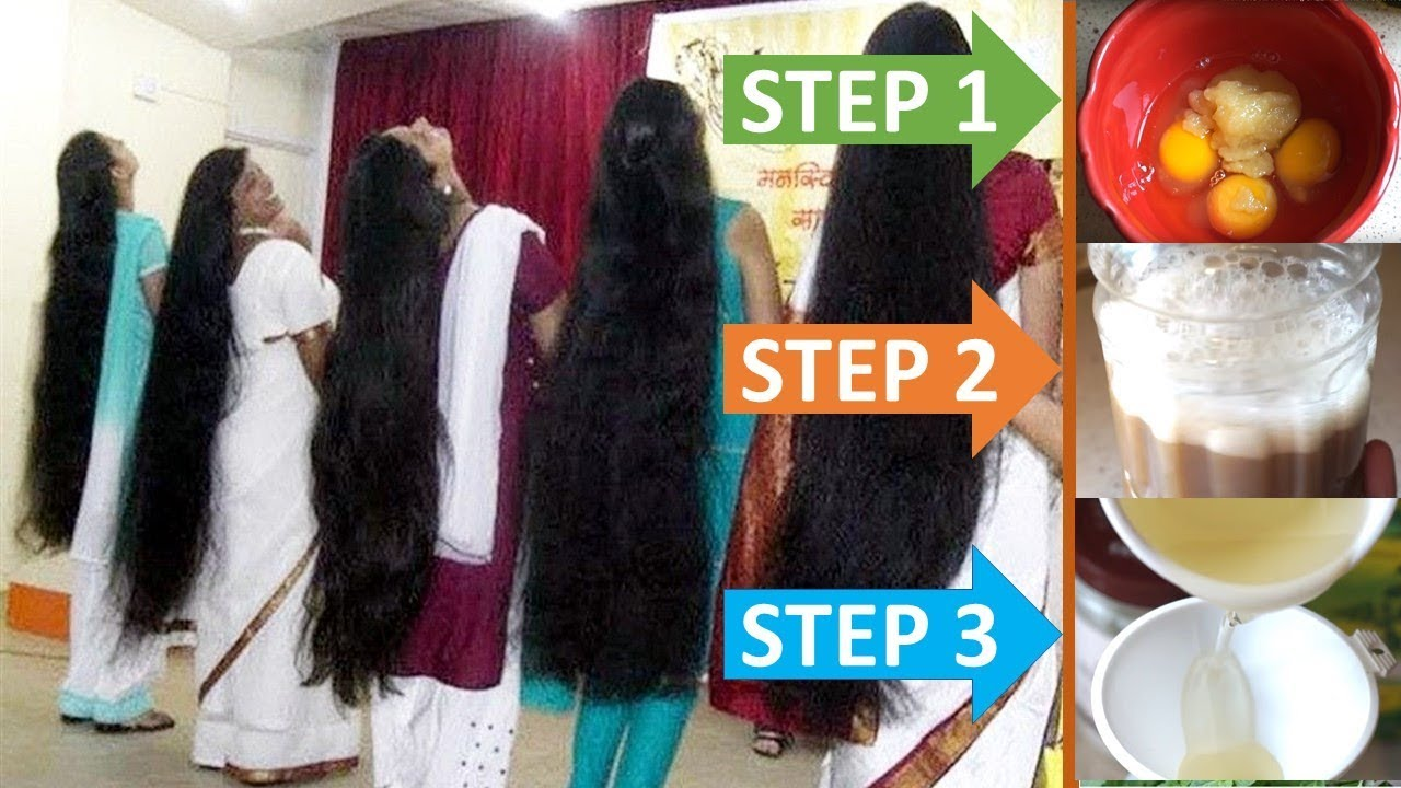 How To Get Long Hair Naturally In One Month