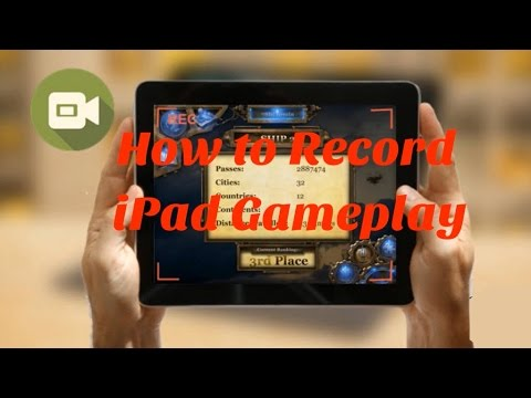 Simple and Easy Way to Record iPad Gameplay