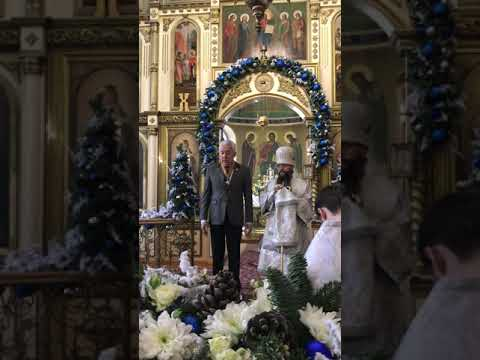 Владимир Васильев поздравил православных Дагестана с Рождеством