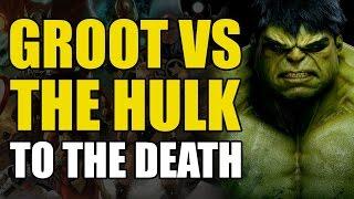 Groot vs The Incredible Hulk (Incredible Hulk Annual #5)