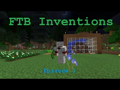 FTB Inventions Episode 1: Water Power