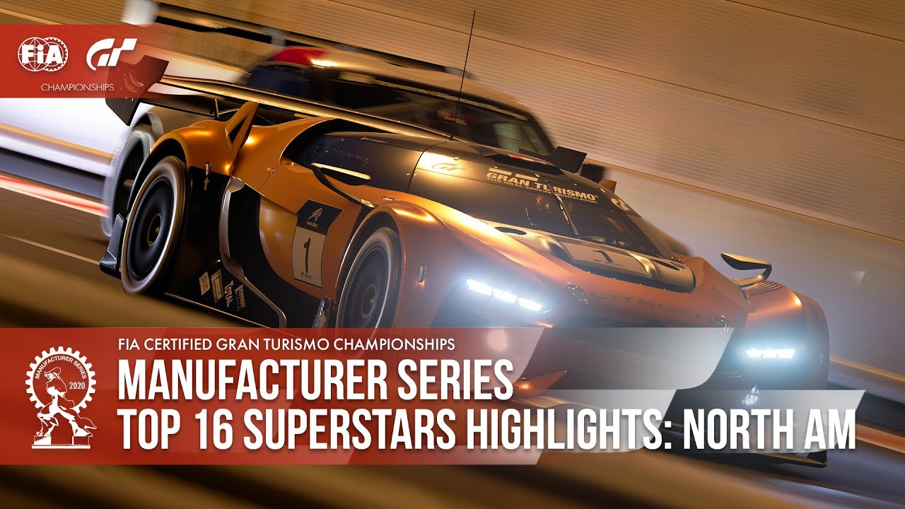 Three-Wide on Tokyo Expressway! Gran Turismo Sport Top 16 Superstars Highlights thumbnail
