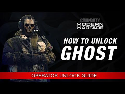 Modern Warfare How To Unlock Ghost Operator Unlock Guide Call
