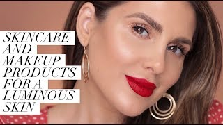 SKINCARE AND MAKEUP PRODUCTS FOR GLOWY LOOKING SKIN ALI ANDREEA