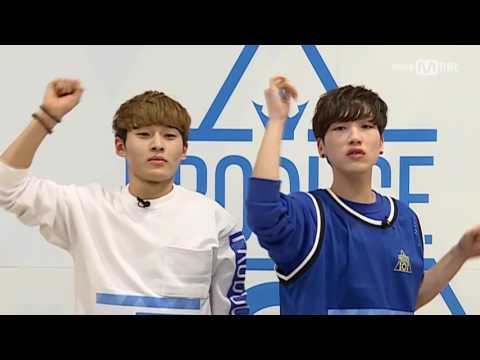 Produce 101 Season 2 Special! Hidden Box MissionㅣKim Seong Lee (C2K) vs Ju Won Tak (2able)