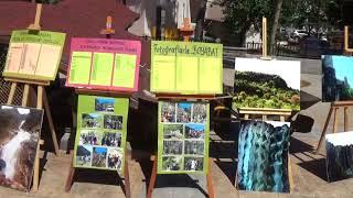 Video  Mahmut Coşkun - Sarıağaççayırı Ortaokulu Resim Sergisi Açıldı