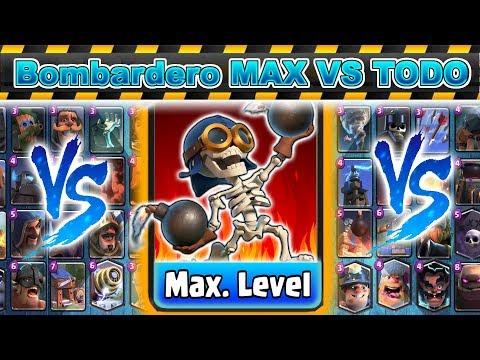 Bombardero al Maximo VS Todas las cartas
