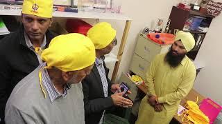 Australian Ahmadi Muslims visit Gurdwara
