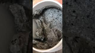 Противовоспалительная маска для лица Черная глина и Грейпфрут 150 мл