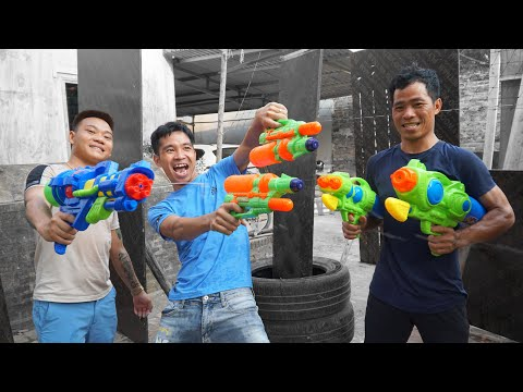 Chơi với súng nước   Game Súng nước   PHD Troll