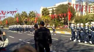 29 Ekim 2010 Cumhuriyet Bayramı Vatan Caddesi Törenleri 4 Bando