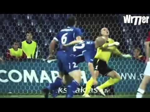Top Funny Lucky Football Goals   HD   WapTubes Com