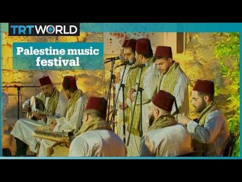 Multicultural music festival in Palestine