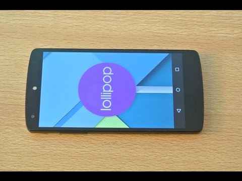 Nexus 5 OFFICIAL Android 5.1.1 Lollipop Review HD