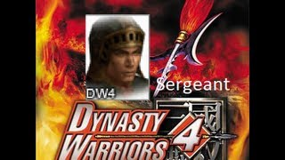 Dynasty Warriors 4 Hyper: Sergeant gameplay