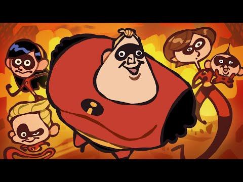 "The Ultimate ""The Incredibles"" Recap Cartoon"