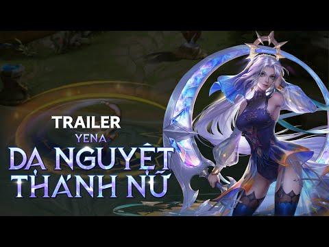 Trailer Yena Dạ Nguyệt Thánh Nữ - Garena Liên Quân Mobile
